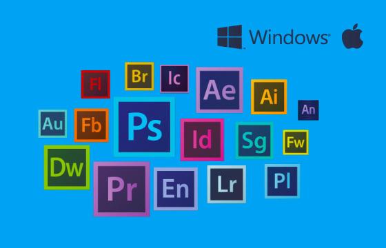 Win/Mac版 最新版Ae Pr Ps Au Lr Ai CC 2019 大师版软件 一键安装版