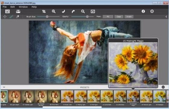PS Lr 艺术画 油画效果插件JixiPix Artista Impresso Pro v1.8.3