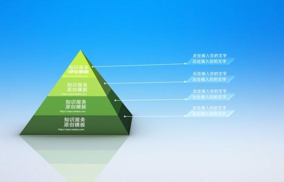 金字塔统计ae模板
