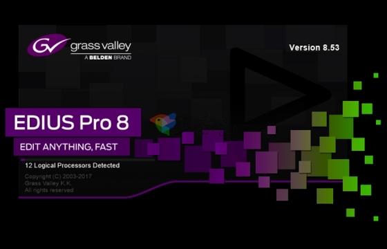 EDIUS Pro 8.53 2808官方正式版+破解补丁【免费下载安装】