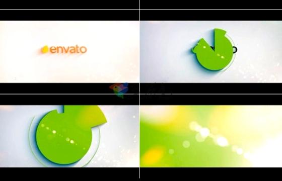 AE模板 简短的8秒标志小动画Karma Logo v1