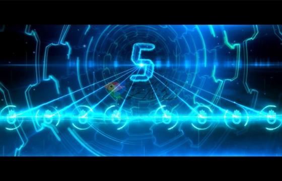 Ae模板启动仪式超宽屏超宽屏启动仪式蓝色科技8手印可自定义数量