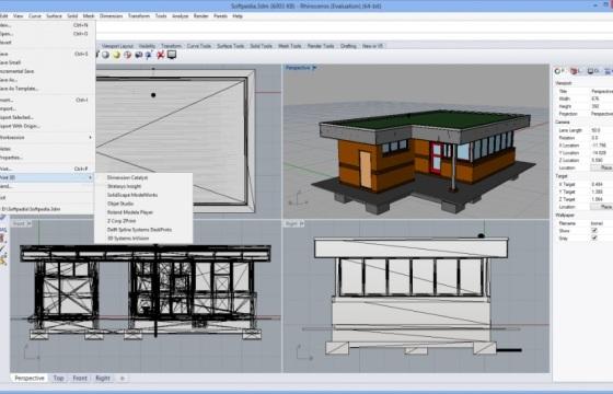 三维模型建模软件 犀牛6.0 Rhinoceros v6.3.18090.471 破解版