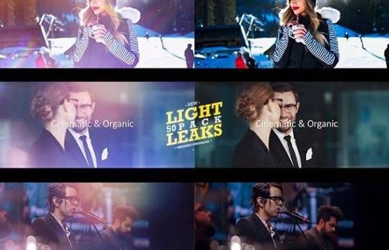 111个唯美漂亮镜头炫光漏光高清视频素材 Light Leaks Mov