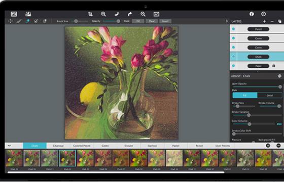 PS Lr 粉笔 蜡笔画转换插件 Jixipix Pastello v1.1.4 注册破解版