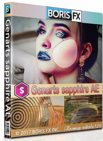 蓝宝石插件合集Genarts Sapphire名称汉化版一键安装 Ae 插件-第1张