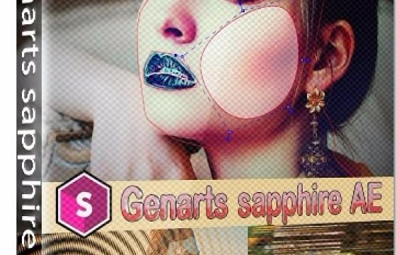 蓝宝石插件合集Genarts Sapphire名称汉化版一键安装