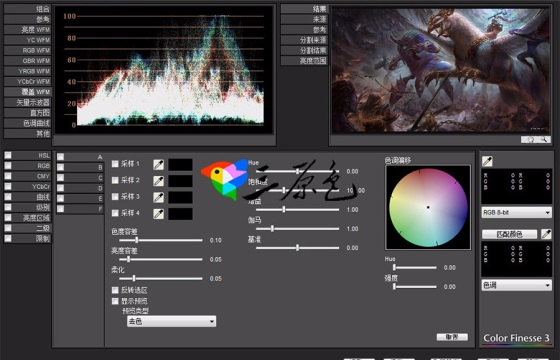 AE Pr精密校正调色插件SA Color Finesse 3.0中文版+视频教程