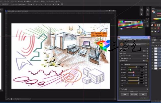PS线条曲线绘制插件软件神器 Lazy Nezumi Pro v18.03 专业版