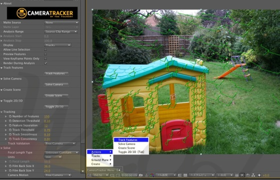 AE 三维摄像机反求插件The Foundry CameraTracker 中文教程