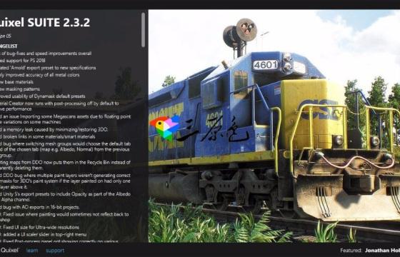 PS插件 法线贴图 模型贴图编辑插件 Quixel Suite v2.3.2 64Bit