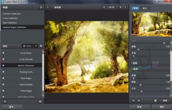 PS插件 降噪手绘艺术 Topaz Clean v3.1 中文一键安装版