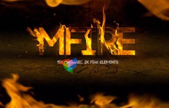 MotionVFX 120多个高清2K真实火焰特效视频素材 Mov