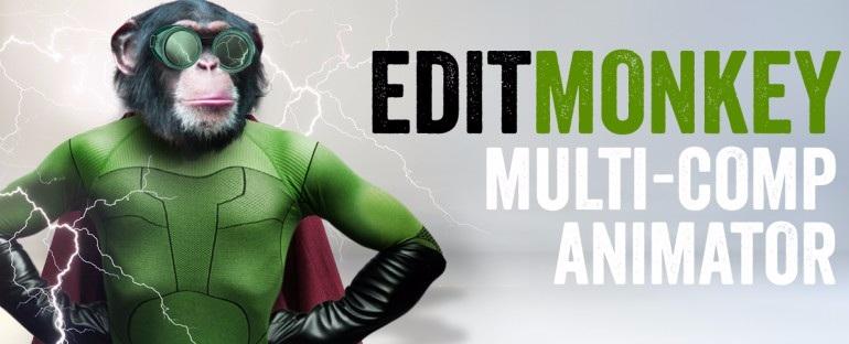 多图层文字动画 MG动画神器Aescripts EditMonkey v1.0+教程 脚本/预设-第1张