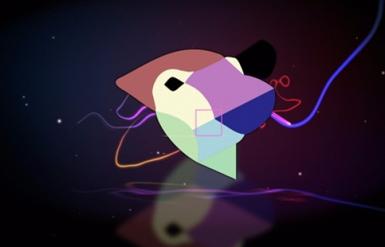 Ae模板 随意涂抹的色彩光线logo演绎片头,Light Scribble Logo