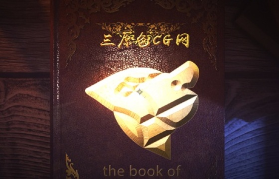 AE模板:魔法之书,充满奇幻色彩的魔力书本3D动画