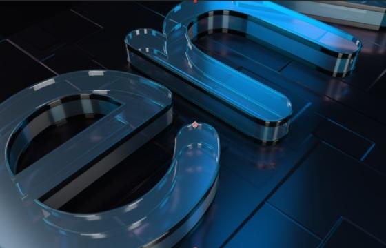 Ae模板 玻璃质感非常真实的3D标志演绎开场片头 Logo演绎