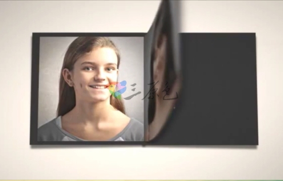 PhotoBook照片书籍展示AE模板