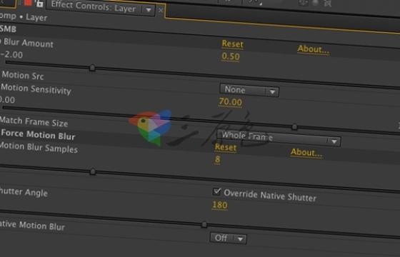 RSMB动态模糊插件 ReelSmart Motion Blur v6.0 一键安装版