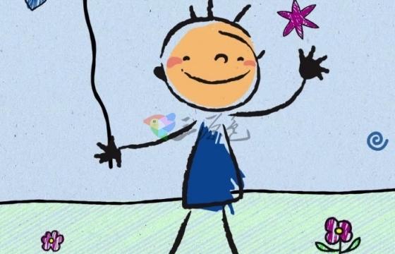 AE卡通动画儿童游戏时间图形动画工具包模板 Playtime