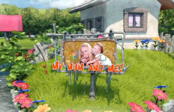 Ae模板 三维卡通场景儿童小孩生日片头动画Birthday_Party