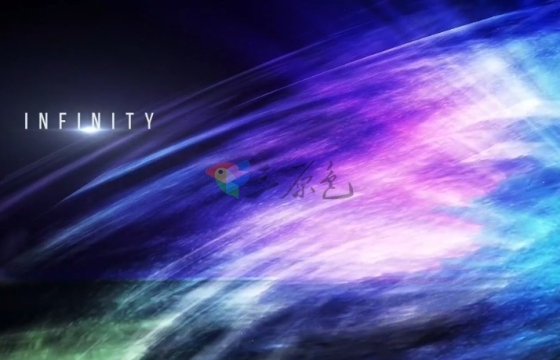 Pr模板 浩瀚宇宙银河极光文字标题片头 Premiere Pro Aurora