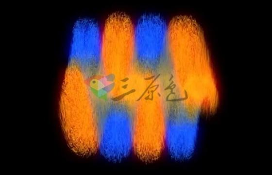 AE模板 4K彩色笔触笔刷旋转显示Logo Colorful Transforms