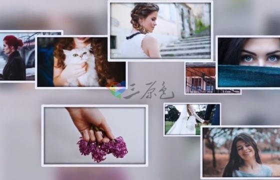 AE模板 时尚优雅的相机运动照片展示片头 Elegant Photos