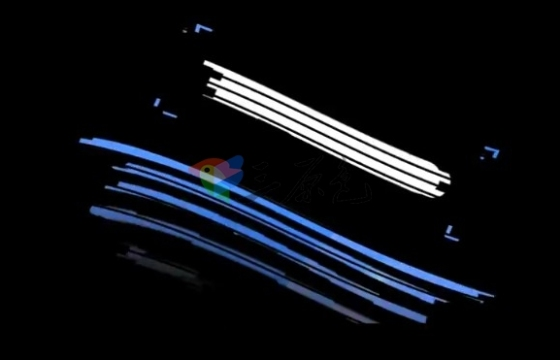AE模板 时尚的信号损坏故障文字标题动画 Glitch Titles
