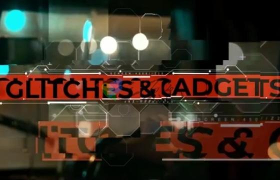 AE模板 文字字幕标题故障信号不良 扭曲损坏效果 Glitch Titles