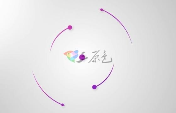 AE模板 简洁流畅MG动画Logo标志展示片头 Glossy Logo