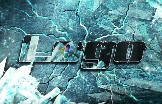 AE模板 震撼粒子飘散 冰块Logo展示开场片头 Ice Epic Logo