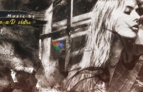 AE模板 标题图片水墨散开视频片头 Ink Trailer Templates