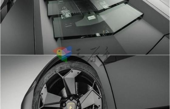 3D模型素材 高精度 兰博基尼Reventon 三维模型Max obj fbx