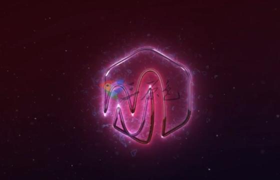 AE模板 金属描边霓虹灯Logo标志视频片头 Metal Neon Logo