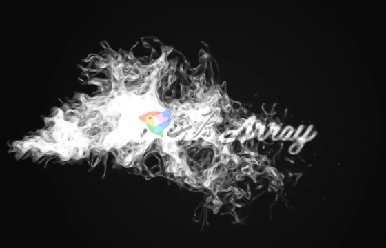 AE模板 神秘诡异烟雾粒子文字特效片头开场 Mystic Logo