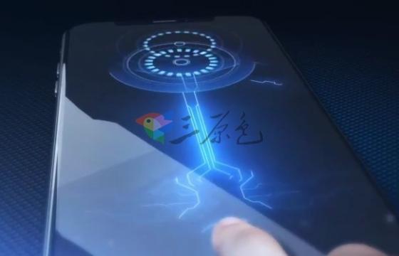 AE模板 高科技手机指纹识别Logo展示片头 Phone ID Touch
