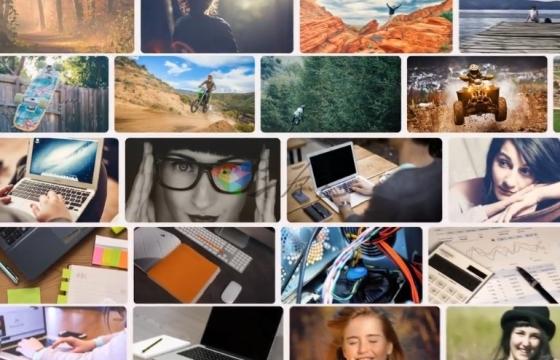 AE模板 家庭朋友旅游照片纪念幻灯片相册模板 Presentation