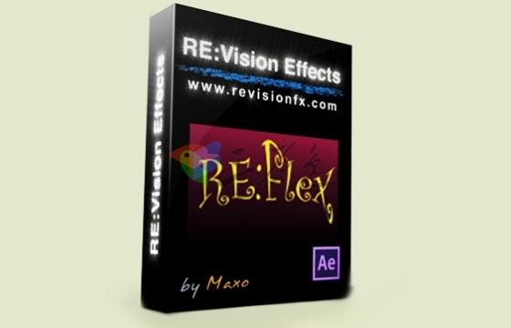 AE Pr 扭曲变形 变脸特效插件 RevisionFX REFlex v5.2.8 Win/Mac