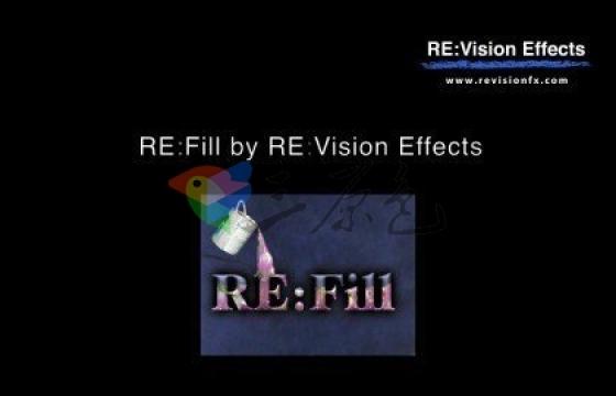 AE Pr视频像素智能修补/填充插件 RevisionFX REFill 2.2.2d for Win