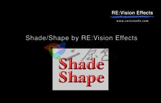 AE插件 三维形状投影插件 RevisionFX Shade Shape v4.2.3d for Win