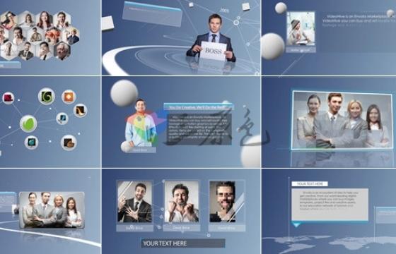 AE模板 公司企业内容宣传介绍 Simple Corporate Presentation