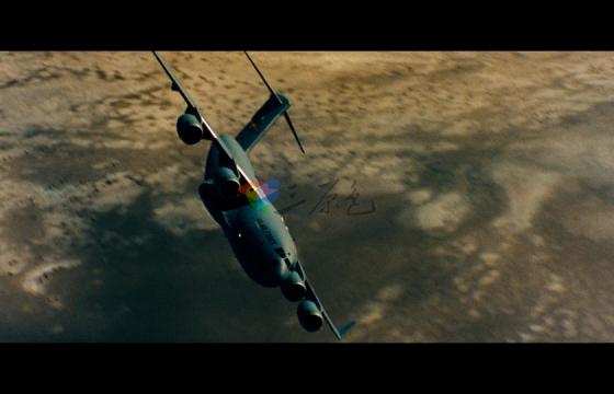 现代战争类大场景航空母舰战斗机高清视频素材