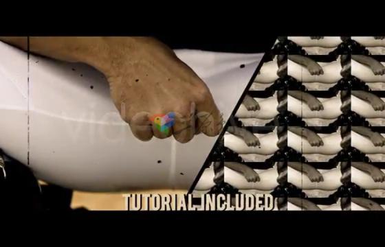 Ae模板 复古视频宣传片包装Action Trailer