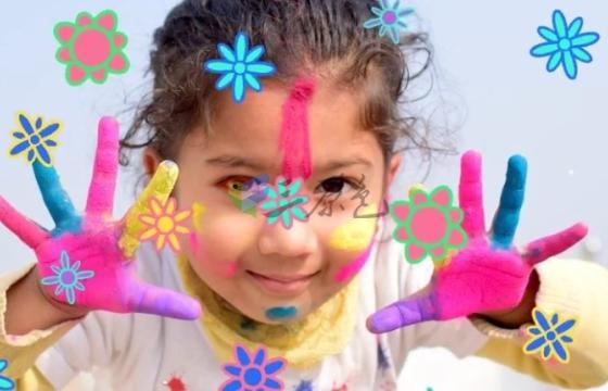 AE模板 儿童卡通动画元素转场过渡素材 Summer Childrens