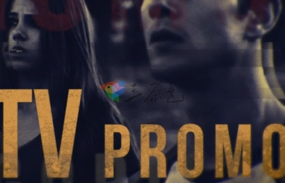 Pr模板 史诗级视频电影预告片文字标题 TV Promo