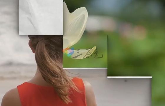 AE模板 图片视频相册展开过渡效果 Unfolding Transition