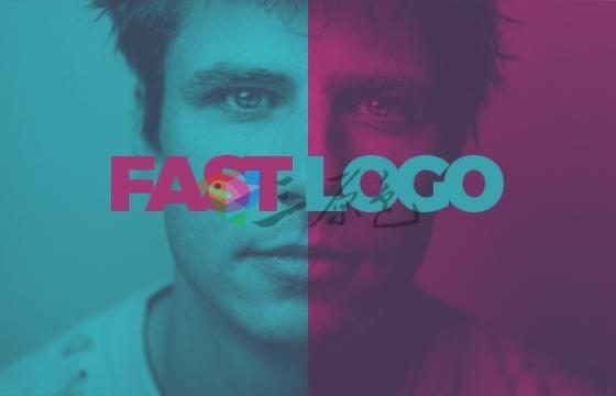 Ae模板 快速文字图片闪烁Logo片头Fast Logo Intro