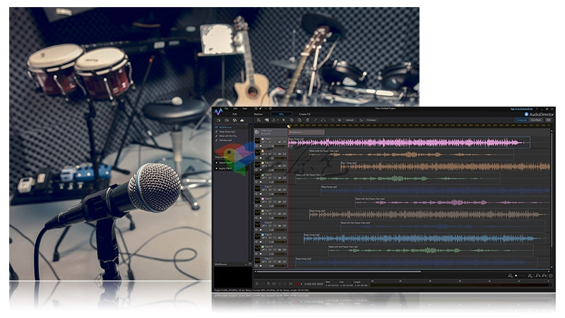 音频影音编辑处理软件 AudioDirector Ultra v8.0.2 中文破解版 其它-第2张