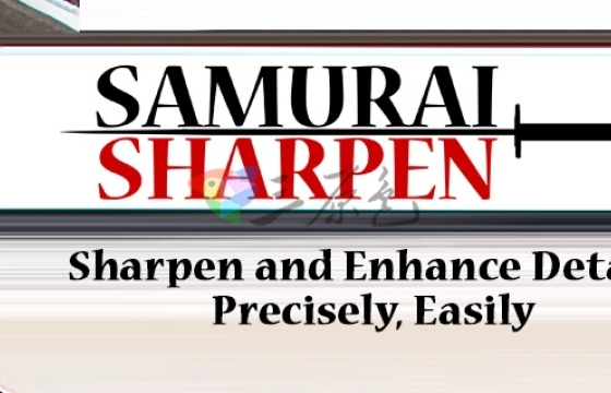 AE Pr 智能锐化降噪磨皮插件 Digital Anarchy Samurai Sharpen v1.1
